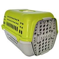 Переноска Animall P 990 для кішок і собак, салатова, 49×35×32.5 см