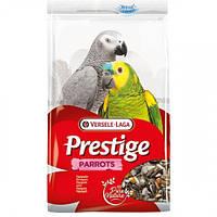 Корм Versele-Laga Prestige Parrots для крупных попугаев, зерновая смесь, 1 кг