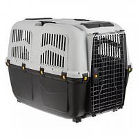 Переноска MPS Skudo 7 IATA для кішок і собак до 50 кг, сіра, 105×73×76 см