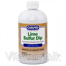 Средство Davis Lime Sulfur Dip антимикробное и антипаразитарное, для собак и котов, концентрат, 473 мл