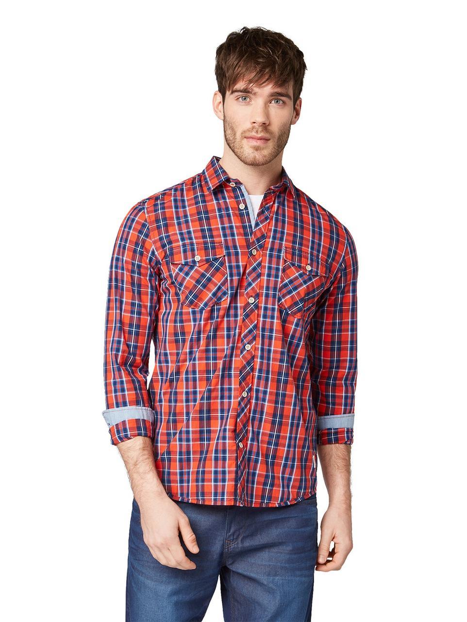 Рубашка Tom Tailor 1009448_16889 L Красный