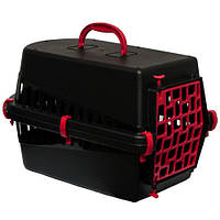Переноска Georplast Black Edition, для собак, 55×33×32 см