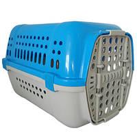 Переноска Animall P 990 для кошек и собак, голубая, 49×35×32.5 см
