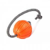 М'ячик Liker Корд на шнурі, діаметр - 9 см