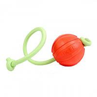 М'ячик Liker Люми на шнурі, діаметр - 9 см