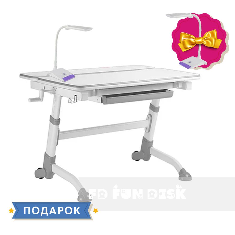 Дитяча парта для школяра FunDesk Volare Grey