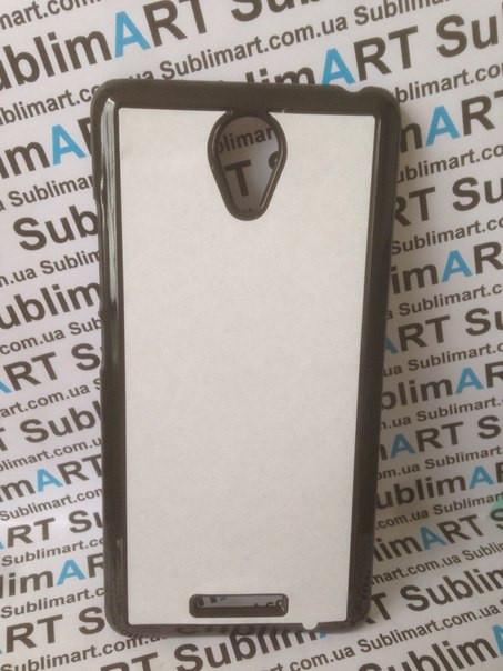 Чехол для 2D сублимации пластиковый на Xiaomi Redmi Note 2 черный