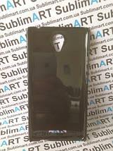 Чехол для 2D сублимации пластиковый на Xiaomi Redmi Note 2 черный, фото 3