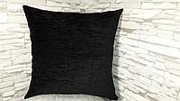Подушка декоративная  45х45 черная, фото 1