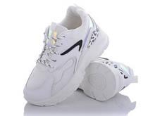 Кроссовки женские белые Rama-G300-2