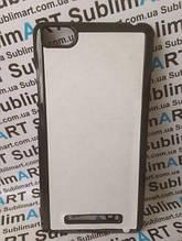 Чехол для 2D сублимации пластиковый на Xiaomi MI 4i черный