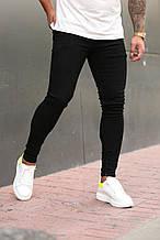 Мужские джинсы зауженные Скини темно-серые/ Турция Черный, 31