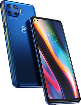 Смартфон Motorola Moto G 5G Plus 6/128 GB Surfing Blue Dual SIM (EU версия)