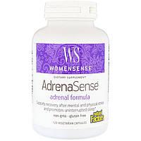 Комплекс для поддержки надпочечников Natural Factors, WomenSense, AdrenaSense, 120 капсул