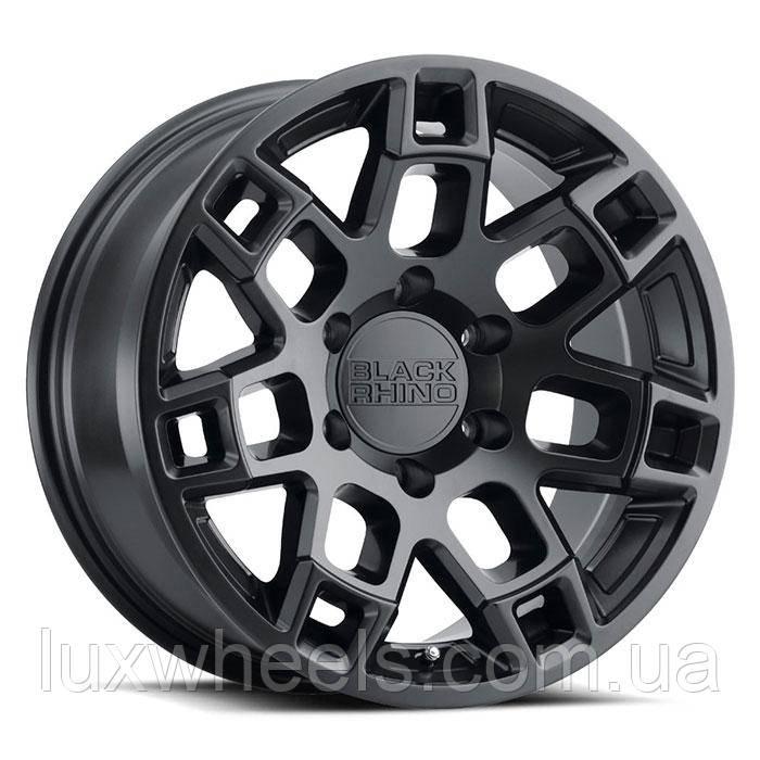 BLACK RHINO Realm SEMI GLOSS BLACK