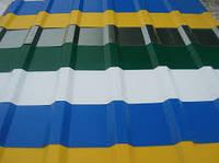 Профнастил стеновой, ПС-10 полиэстер (глянец)