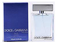 Мужская туалетная вода Dolce&Gabbana The One blue, 100 мл