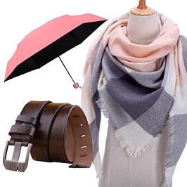 Перчатки, ремни, зонты и др.