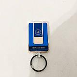 Зажигалка спиральная USB-811. Mercedes. Цвет: синий, фото 5