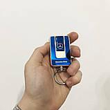 Зажигалка спиральная USB-811. Mercedes. Цвет: синий, фото 7