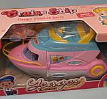 Игровой набор Детский розовый Корабль Круизный лайнер 6613-1 в коробке, фото 2