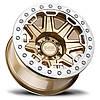 BLACK RHINO Rift Beadlock MATTE GOLD W/ MACHINED RING, фото 3