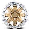 BLACK RHINO Rift Beadlock MATTE GOLD W/ MACHINED RING, фото 2