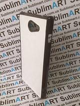 Чехол для 2D сублимации пластиковый на Sony Xperia M2 черный, фото 2