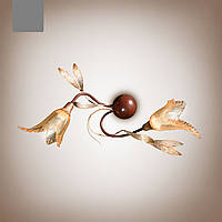 Бра 2-х ламповое в стиле флористика