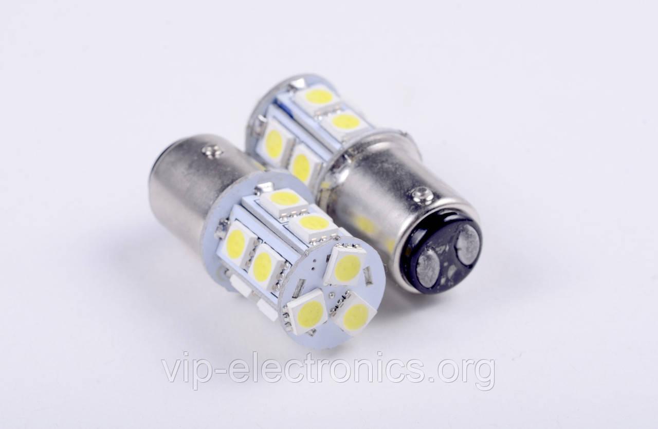 Світлодіодна автолампа для цоколя  1156-1157 5050 13cmd