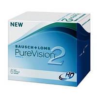 Purevision 2 HD силикон-гидрогелевые линзы дневного и/или непрерывного ношения со сроком замены через месяц
