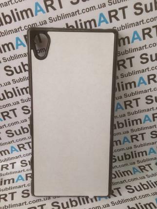 Чехол для 2D сублимации пластиковый на Sony Xperia Z5 черный, фото 2