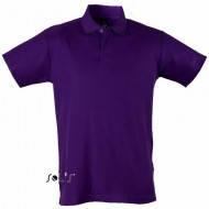 Фиолетовая тенниска поло мужская трикотажная