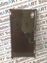Чехол для 2D сублимации пластиковый на Sony Xperia M4 черный, фото 3