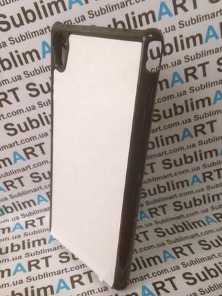 Чехол для 2D сублимации пластиковый на Sony Xperia M4 черный, фото 2