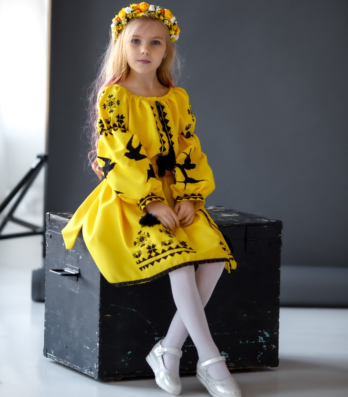 Вишите плаття Ластівки (5-12 років)