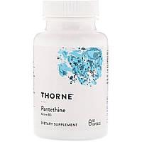 Пантетин, Pantethine, Thorne Research, 60 Капсул