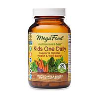 Дитячі щоденні вітаміни Kids One Daily, MegaFood, 60 таблеток