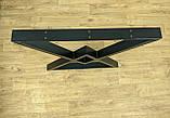 """Черные опоры """"Дельта"""" для кухонного стола из металла, фото 8"""