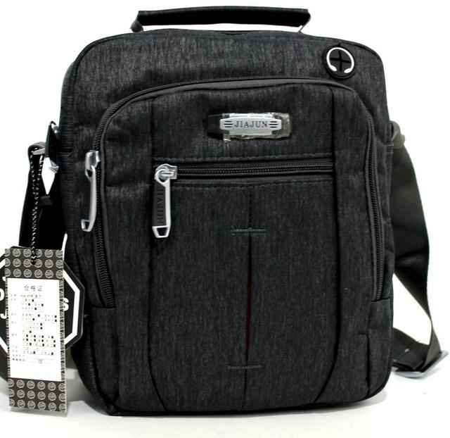 Мужская удобная сумка через плечо два цвета JiaJun YR 9706