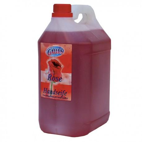 Жидкое мыло для рук Gallus Роза 5л