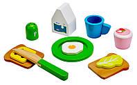 4100101 Набор для приготовления завтрака деревянный (11эл.)