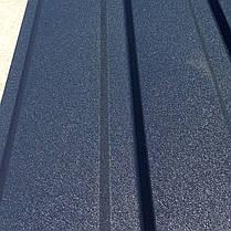 Профнастил  для забора, цвет: Графит ПС-20, 0,45 мм; высота 1.75 метра ширина 1,16 м, фото 3