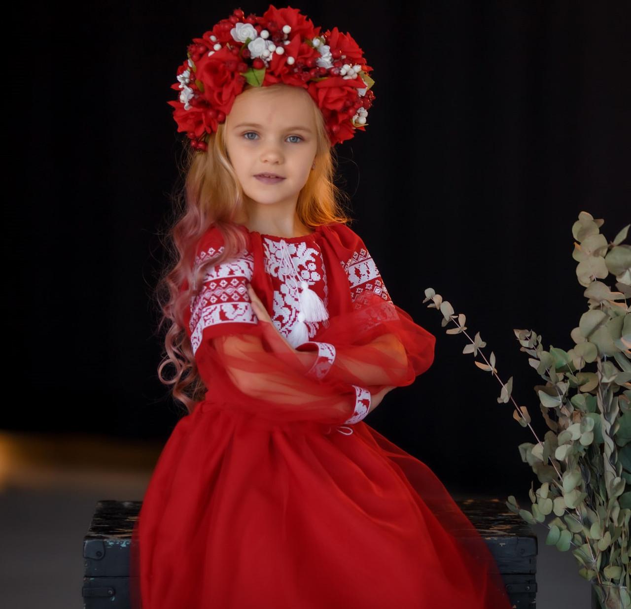 Вишите плаття Панночка (6-12 років)