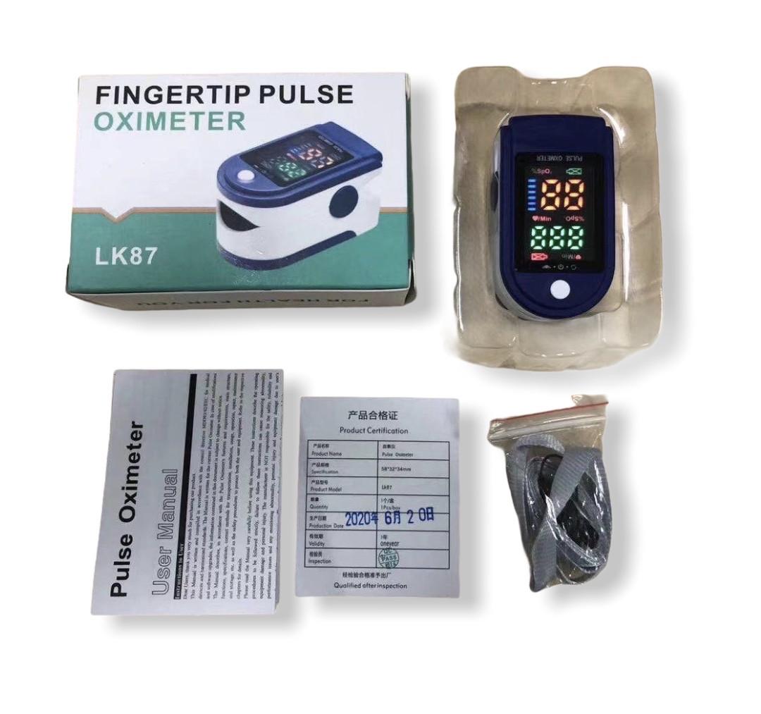 Пульсоксиметр, портативный пульсометр, Pulse oximeter