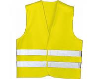 Жилет аварийный, светло-желтый, XL.