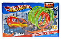 """Трек з запуском """"Hot Wheels"""" 8804 р.45,5*29*5,5см, фото 1"""