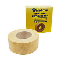 Пластырь на катушке Medicom на тканевой основе бежевый 5м*2см