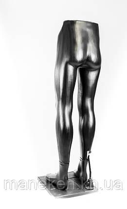 """Ноги """"Юра"""" PN3 (черный) (201) к под-ке, фото 2"""
