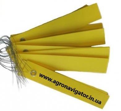 Этикетки на оцинкованной проволоке ,цветная 250 шт. (Германия) 2х10 см
